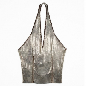 Paco Rabanne Vintage Chainmail Top S