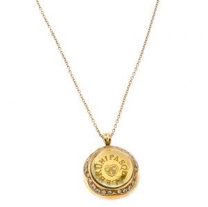 Pasqual Bruni Yellow Cabochon Diamond 18k Yellow Gold Pendant Necklace