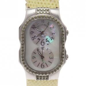 Philip Stein Mother of Pearl Stainless Steel Telsar  Women's Wristwatch 28MM
