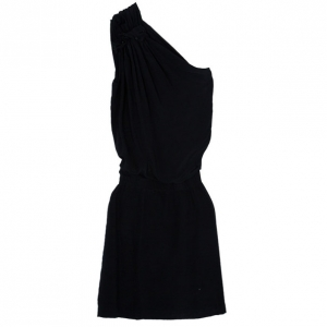 Philosophy Di Alberta Ferretti Black Silk Dress S