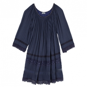 Philosophy Di Alberta Ferretti Pleated Lace Top M