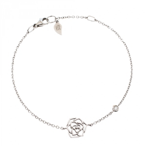 Piaget Rose Diamond 18K White Gold Bracelet