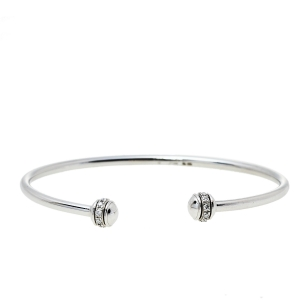 Piaget Possession Diamond 18K White Gold Cuff Bracelet 15