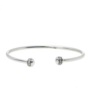 Piaget Possession Diamond 18K White Gold Cuff Bracelet 15