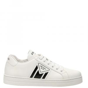 Prada Black Logo Sneakers Size EU 40