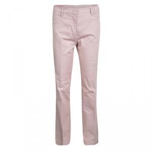 Prada Sport Alabastro Pink Stretch Gabardine Pants M