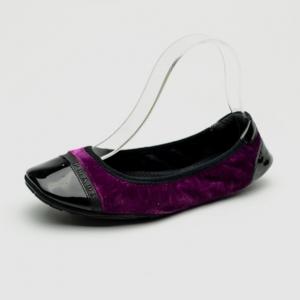 Prada Sport Purple Velvet Ballet Flats Size 38