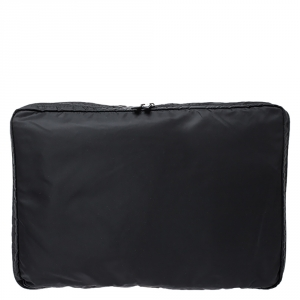 Prada Black Nylon Garment Case