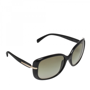 نظارة شمسية برادا SPR08O  أخضر/أسود مربعة