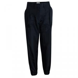 Prada Navy Blue Jersey Jogger Pants S