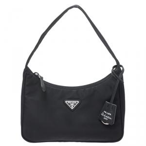 Prada Black Nylon Small Bag