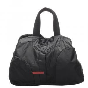 Prada Black Sports Nylon Travel Bag