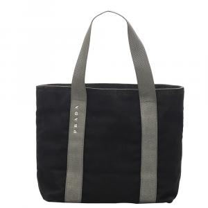 Prada Black Nylon Tessuto Sport Bag