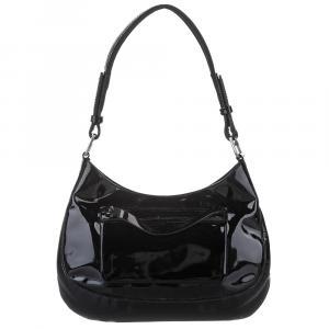Prada Black Patent Leather Bag