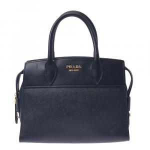 Prada Black Leather   Satchels