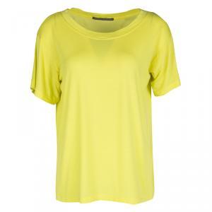 Proenza Schouler Yellow Short Sleeve T-Shirt S