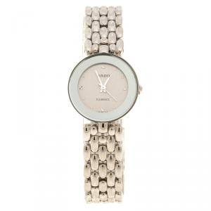 Rado Silver Stainless Steel Florence Women's Wristwatch 23 mm