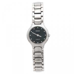 Rado Blue Stainless Steel Florence 322.3758.4 Women's Wristwatch 23 mm