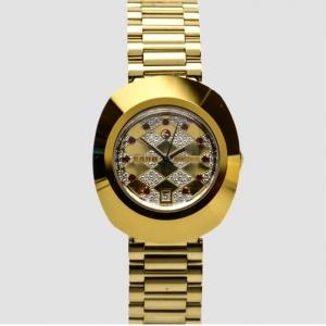 Rado Diastar Stainless Steel Diamond Ladies Wristwatch 35 MM