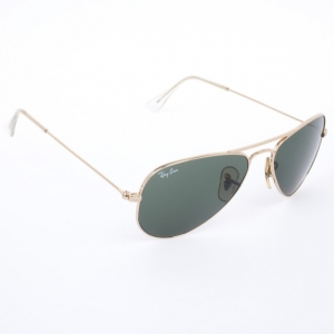 Ray Ban Gold Rimmed Large 42 Aviators