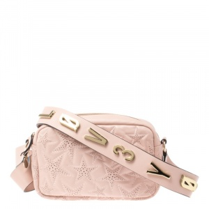 RED Valentino Nude Star Quilted Leather Crossbody Bag