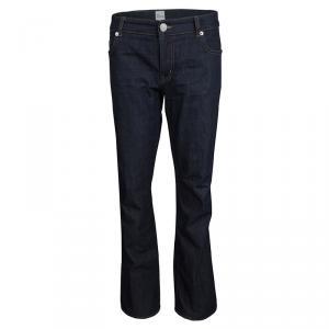 Red Valentino Indigo Dark Wash Denim Straight Fit Jeans L