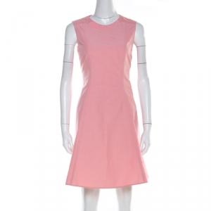 RED Valentino Rose Pink Cotton Blend Sleeveless Sheath Dress M - used
