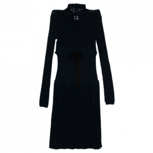 RED Valentino Mixed Knit Dress L