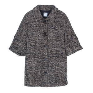 RED Valentino Brown Tweed Short Jacket M