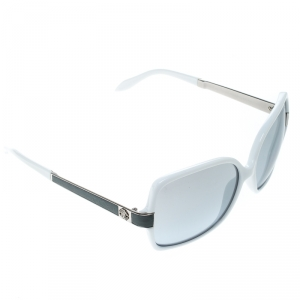 Roberto Cavalli White/Grey Gradient Albizia 648S Oversize Square Sunglasses