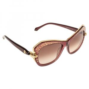 Roberto Cavalli Purple Gradient Taygeta RC981S Cat Eye Sunglasses