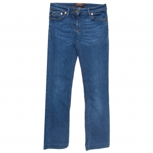 Roberto Cavalli Indigo Denim Straight Fit Jeans S