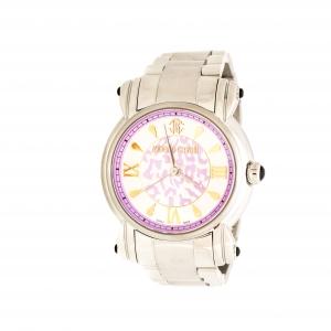 Roberto Cavalli Multicolor Dial Stainless Steel Anniversary 7253172545 Women's Wristwatch 39 mm
