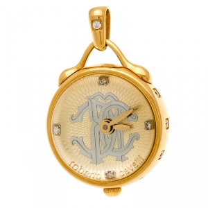 Roberto Cavalli Gold Plated Stainless Steel Miriam R7259148517 Pendant Watch 27 mm
