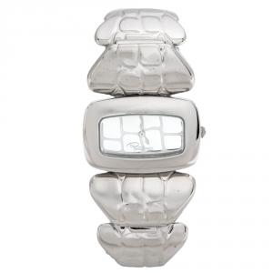 Roberto Cavalli Silver Stainless Steel R7253198015 Women's Wristwatch 38 mm