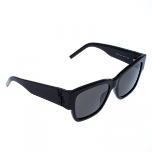 Saint Laurent Paris Black SLM21 Square Sunglasses