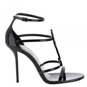 Saint Laurent Cassandra Ysl Sandals 100 Size EU 37