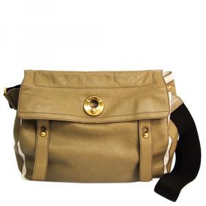 Saint Laurent Paris  Leather  Muse Two Messenger Bags