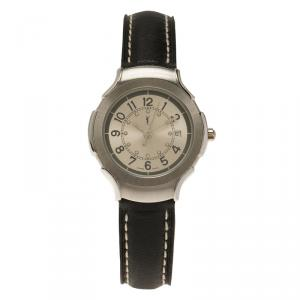 Saint Laurent Paris Silver Stainless Steel Classic Women's Wristwatch 28MM