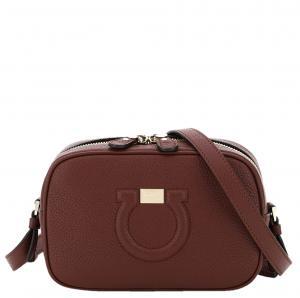 Salvatore Ferragamo Brown Leather City Mini Bag