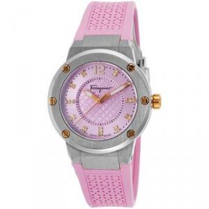 Salvatore Ferragamo Pink Stainless Steel FIG050015 Women's Wristwatch 33MM