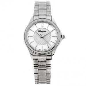 Salvatore Ferragamo Blue Stainless Steel FFV040016 Women's Wristwatch 33 mm