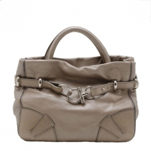 Sonia Rykiel Metallic Leather 'Martha' Satchel