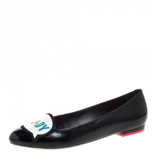 Sophia Webster Patent Leather Boss Lady Ballet Flats Size 37 - used
