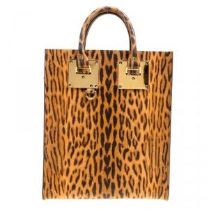 حقيبة سوفي هولم يد علوية البيون جلد طباعة فهد