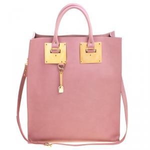 حقيبة يد سوفي هولم جلد وردية فاتحة