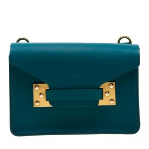 حقيبة كروس سوفي هولم نانو ميلنر جلد خضراء