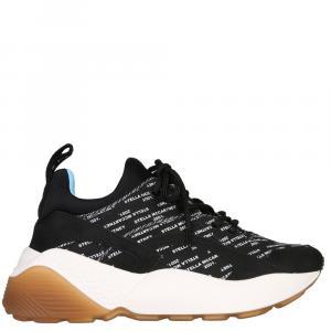 حذاء رياضي ستيلا مكارتني إكليبس جلد أسود مقاس 36