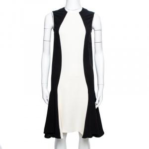 Stella McCartney Bicolor Crepe Sleeveless Flared Dress XS used