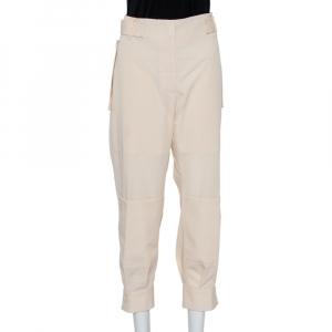Stella McCartney Cream Wool Cargo Pants M - used